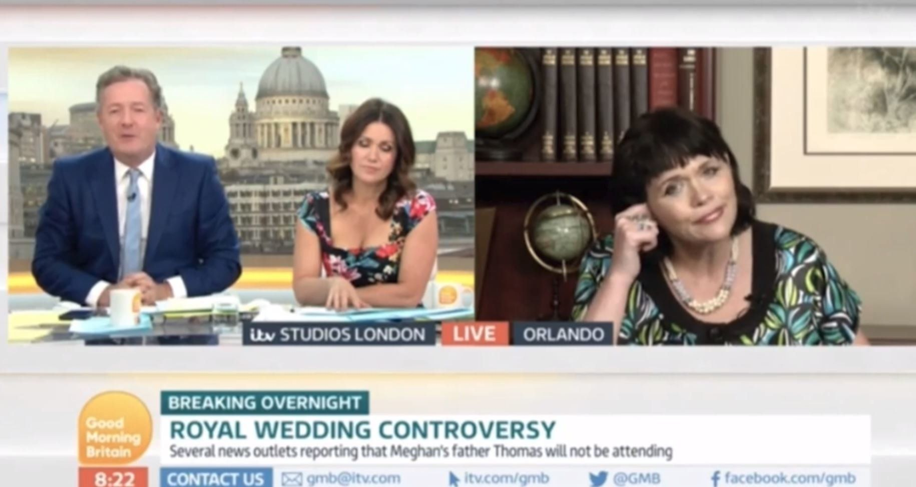 Piers Morgan slammed Samantha Markle on 'Good Morning