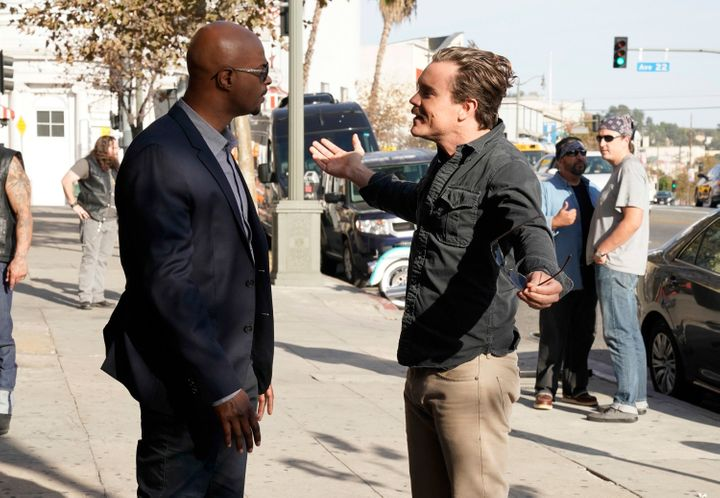 Damon Wayans and Clayne Crawford were not off-screen buddies in their buddy-cop series.