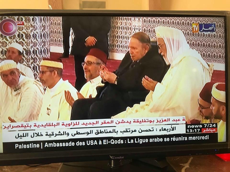 Le Président Bouteflika inaugure le siège de la Zaouïa Belkaidia à