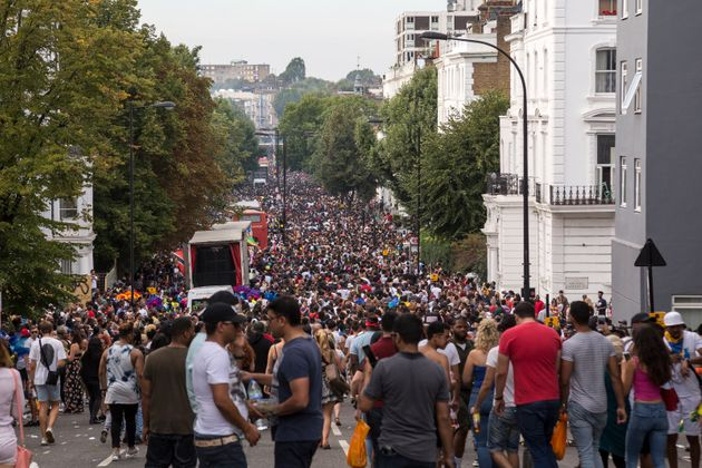 The technology was used at the Notting Hill Carnival in