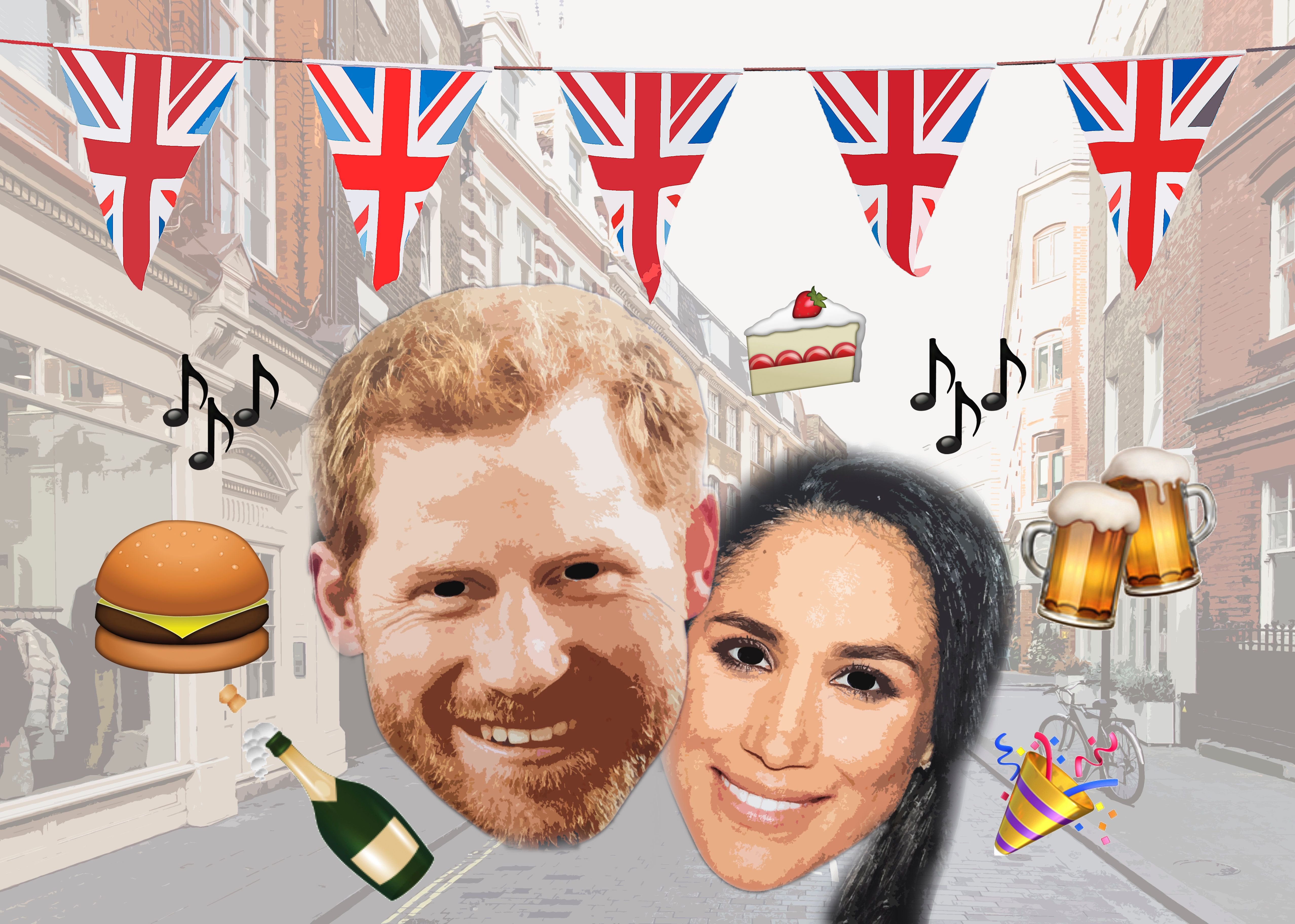 How To Throw A Royal Wedding Street Party Fit For A Prince Or