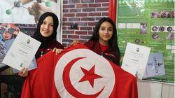 Ces Tunisiennes, d'à peine 17 ans, décrochent deux prix lors d'une compétition internationale pour jeunes scientifiques en