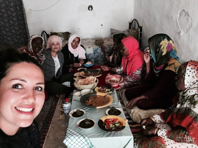 Cette passionnée de voyages décrit son admiration pour les femmes berbères de
