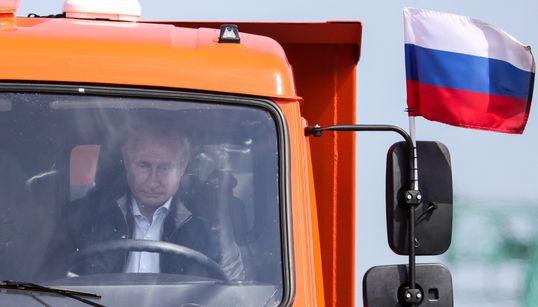 Ο περίεργος τρόπος που ο Πούτιν εγκαινίασε την γέφυρα που ενώνει την Ρωσία με την
