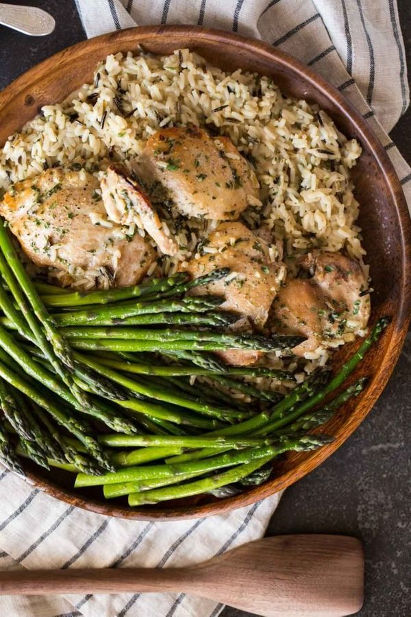 "<strong>Get the <a href=""https://lovelylittlekitchen.com/one-pot-chicken-and-rice-dinner/"" target=""_blank"">One Pot Chicken an"