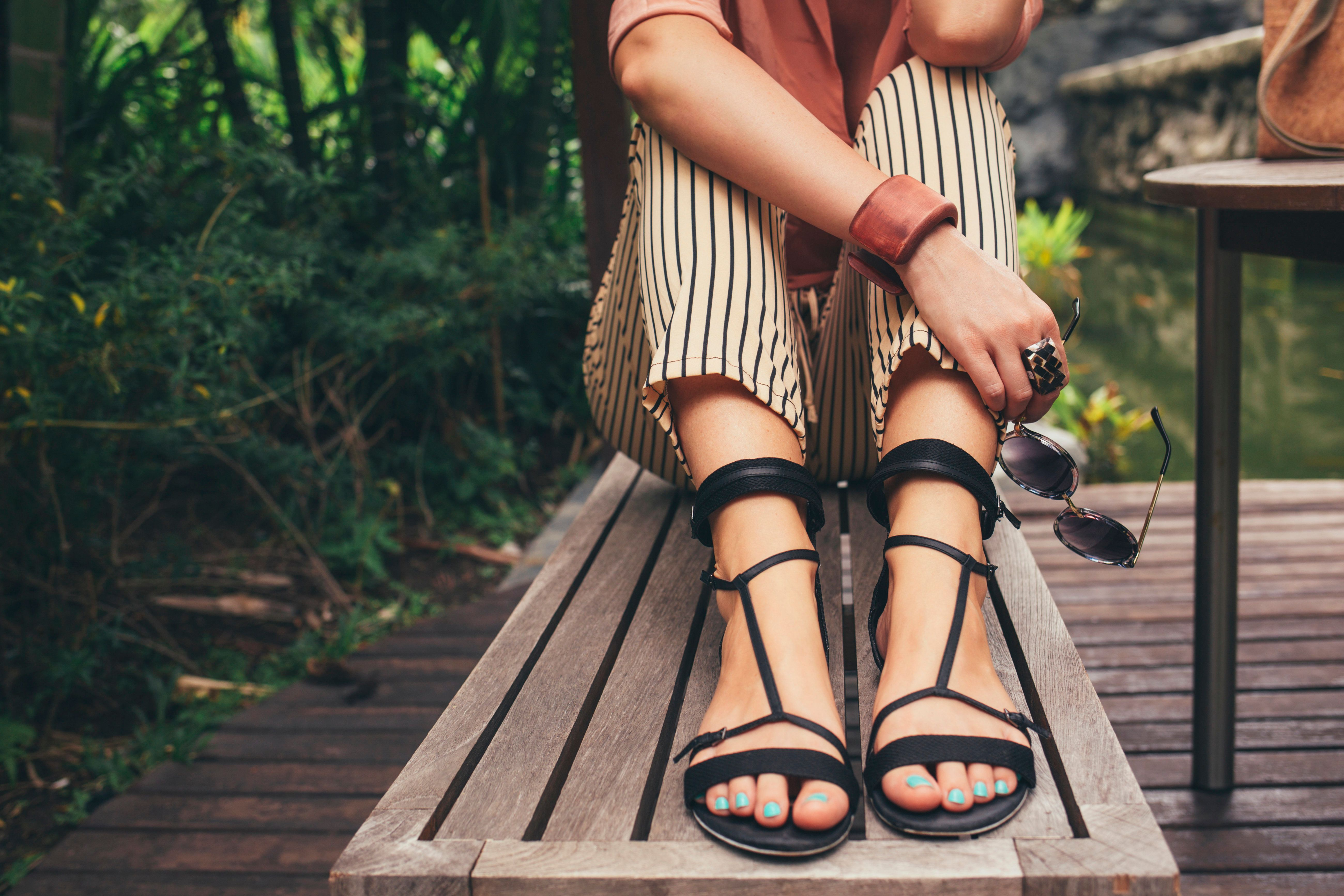Sandal season is coming, and you may or may not want to do something with your feet.