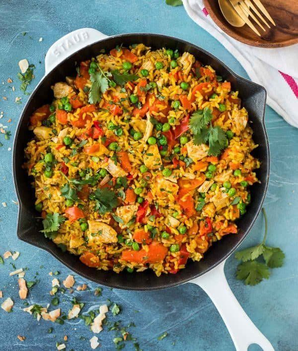 """<strong>Get the <a href=""""https://www.wellplated.com/golden-instant-pot-chicken-and-rice/"""" target=""""_blank"""">Golden Instant Pot"""