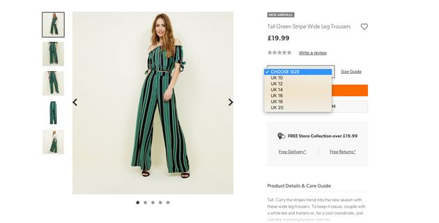 New Look Responds To 'Fat Tax' Criticism By Promising To Review Plus-Size