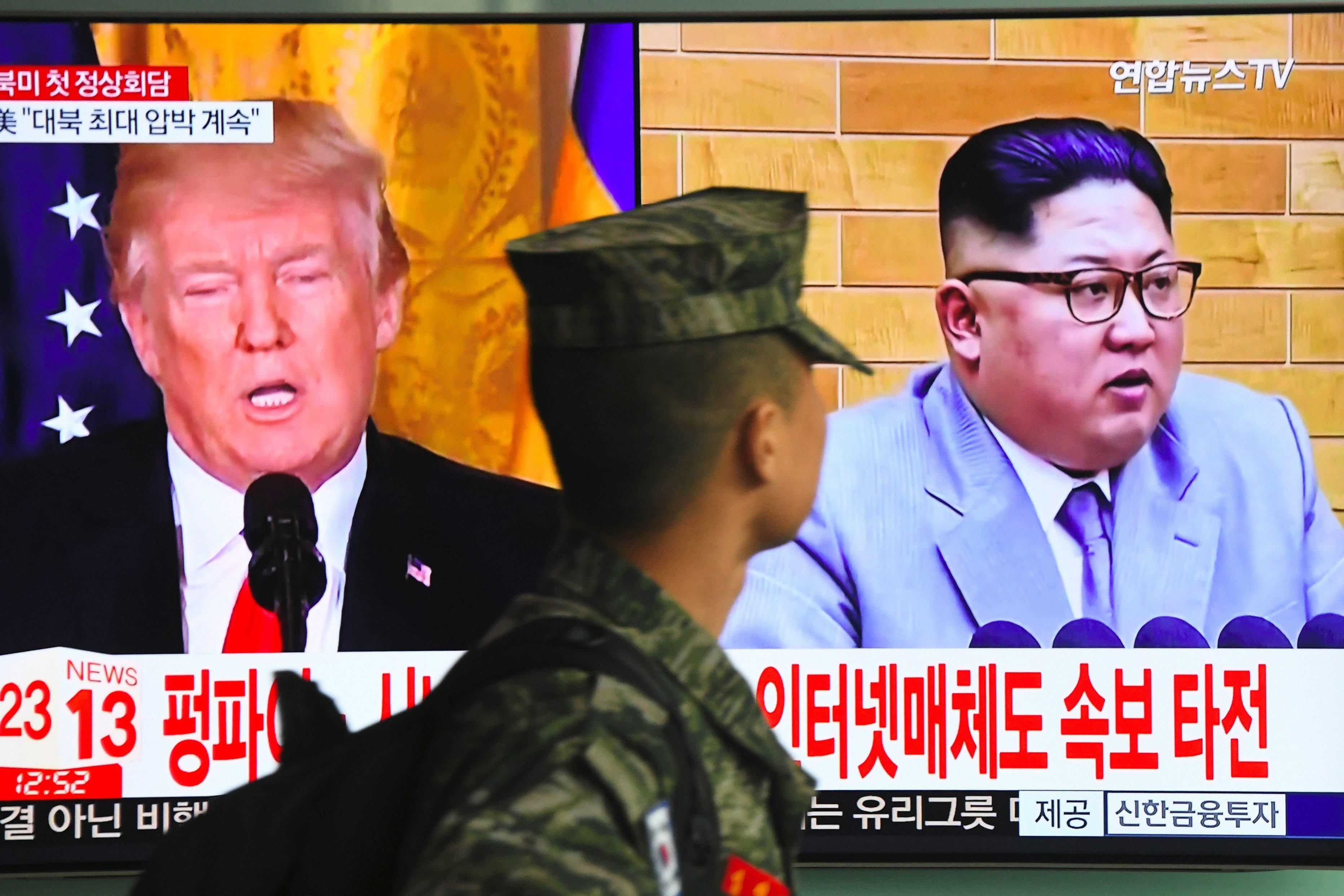 Nordkorea droht Treffen mit Trump abzusagen