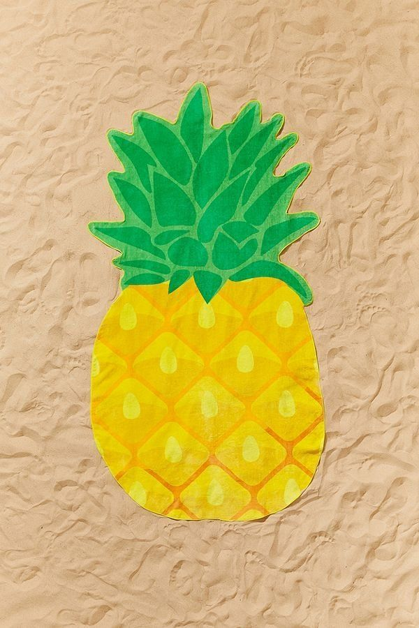 "Get it on <a href=""https://www.urbanoutfitters.com/shop/sunnylife-pineapple-shaped-beach-towel?category=SEARCHRESULTS&col"