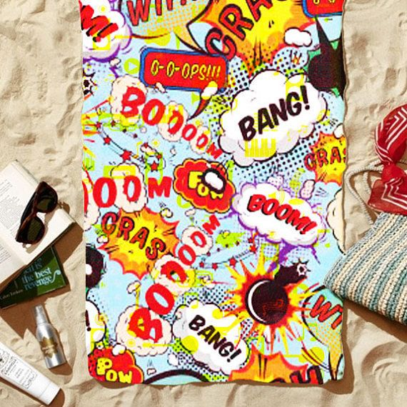 "Get it on <a href=""https://www.etsy.com/listing/536871301/beach-towel-onomatopoeia-30-x-60?ref=shop_home_active_10"" target=""_"