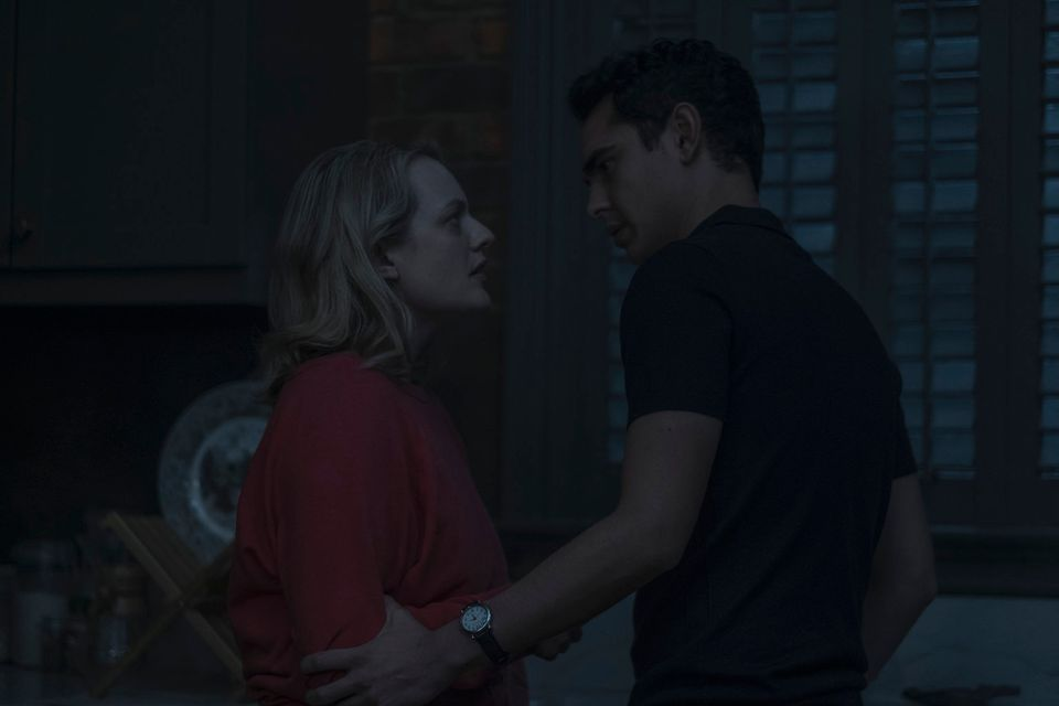 Elisabeth Moss and Max Minghella in
