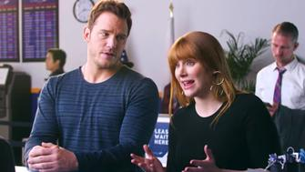 Chris Pratt Bryce Dallas Howard