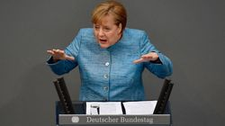 Merkel versteckte 6 deutliche außenpolitische Botschaften in ihrer Rede zum Haushalt