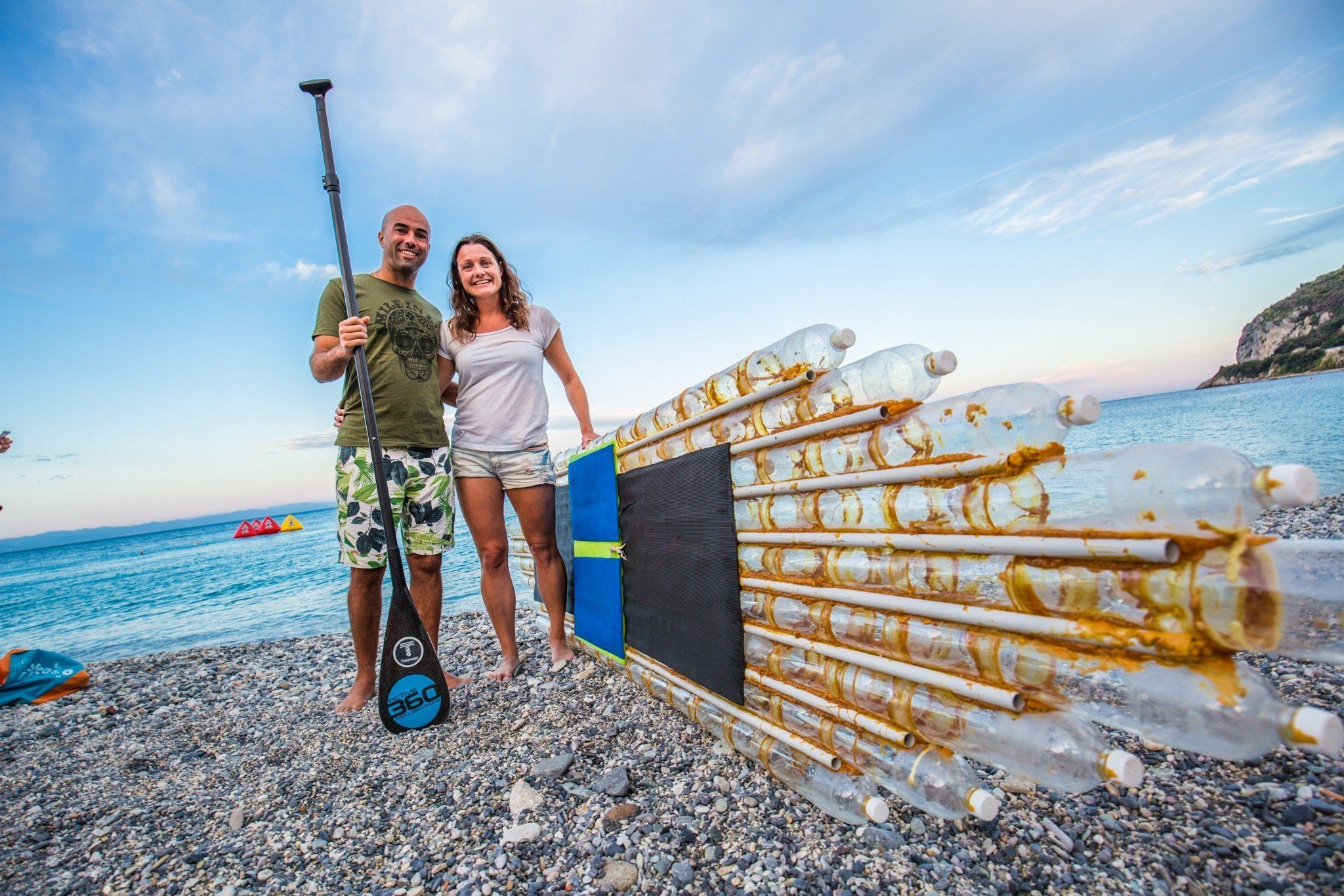 This Couple Are Making Paddle Boards Out Of Your Rubbish To Highlight Plastic