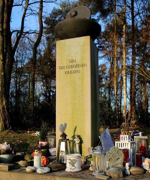 Auf dem Telgter Waldfriedhof