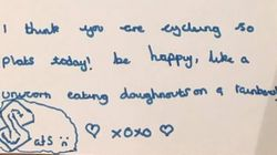 We Can All Learn From This 10-Year-Old Who Wrote Herself An Inspirational Note Before The