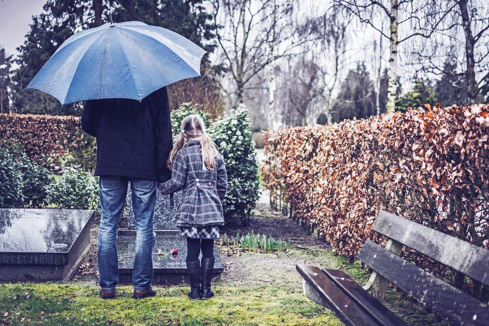 Wie man sich von einem Menschen verabschiedet, der nie gelebt