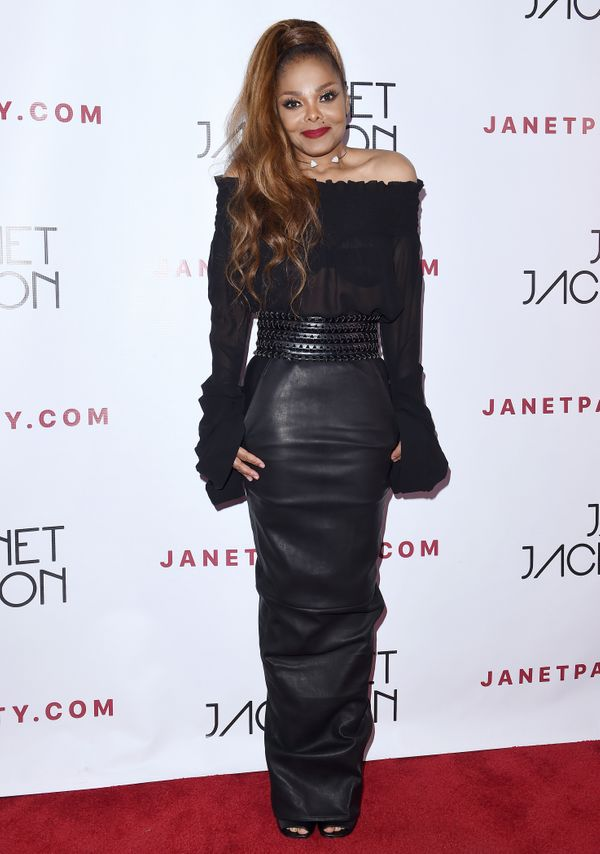 At her State of the World Tour after party at Lure in Los Angeles.