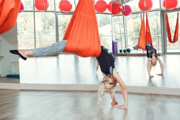 Aerial Yoga: Could This Be Your New