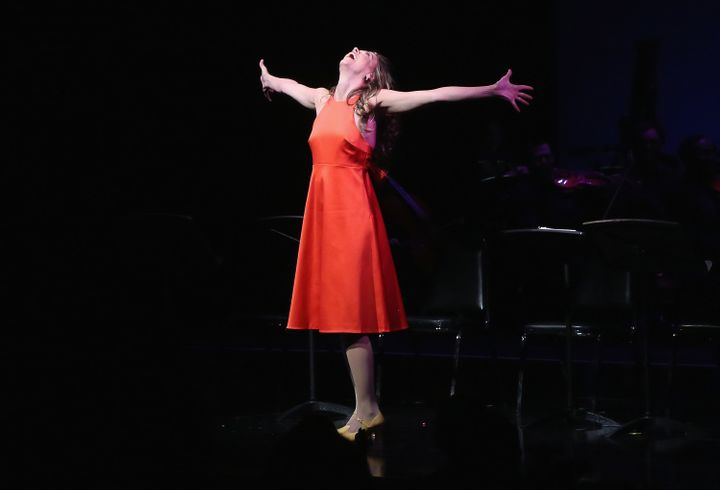 "Foster celebrated the 15th anniversary of her Tony-winning role in ""Thoroughly Modern Millie"" with a special reunion con"