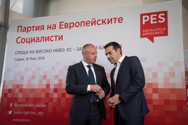 Στη Σύνοδο του Ευρωπαϊκού Σοσιαλιστικού Κόμματος ο