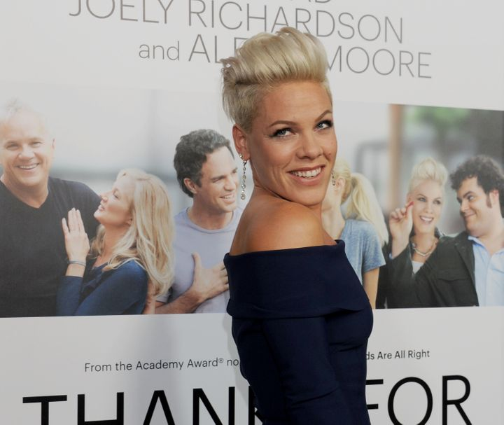 Pink posted another tweet that made her stance on aging crystal clear.