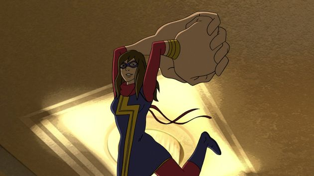 La super-héroïne musulmane Miss Marvel pourrait faire l'objet d'un