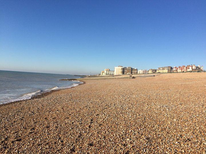 Hove beach.