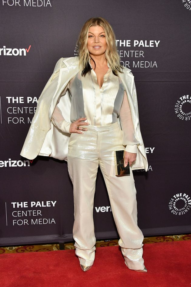 Fergie attends the 2018 Paley Honors at Cipriani Wall