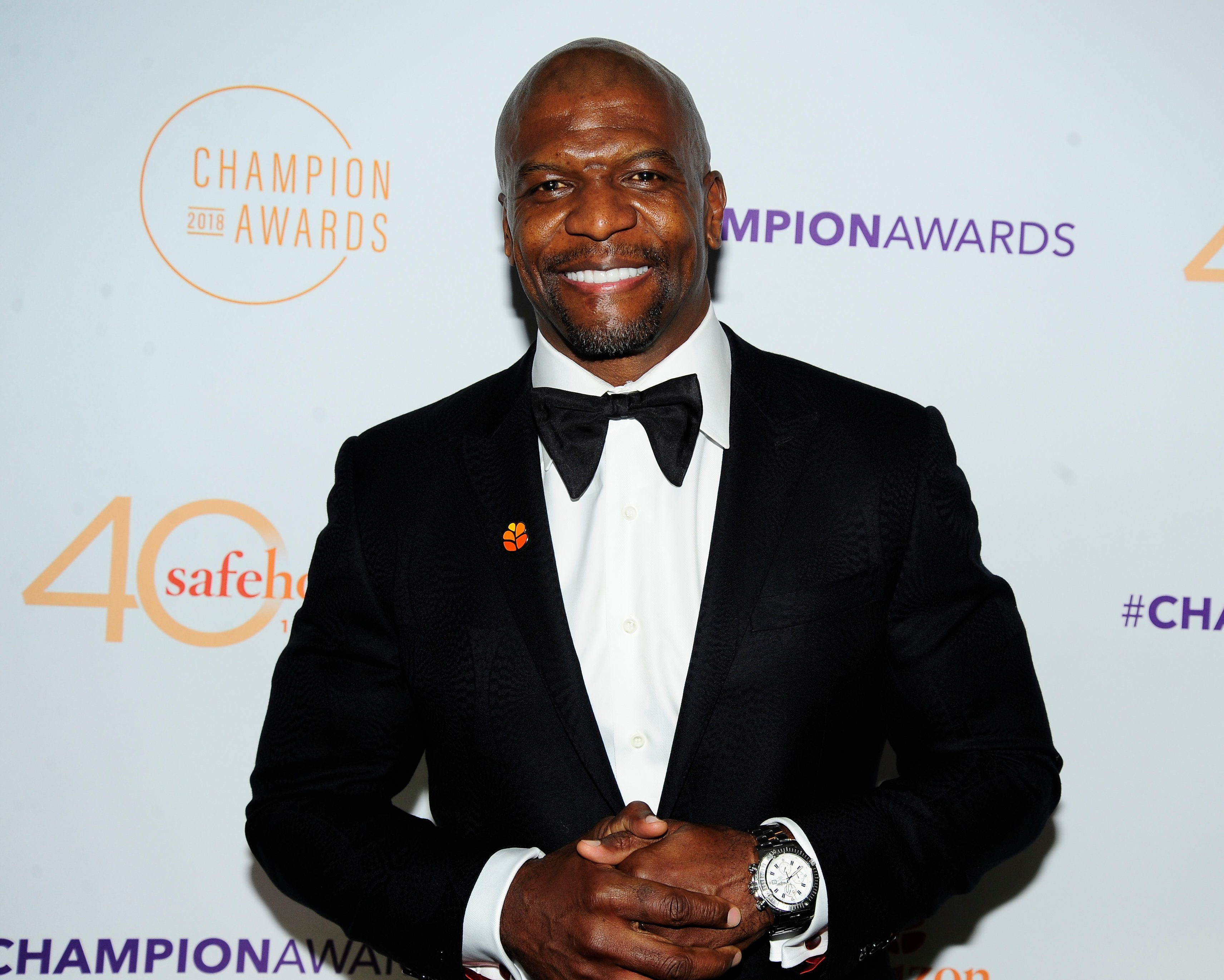NEW YORK, NY - MAY 15: Terry Crews attends Safe Horizon's Champion Awards at The Ziegfeld Ballroom on May 15, 2018 in New York City.  (Photo by Paul Bruinooge/Patrick McMullan via Getty Images)
