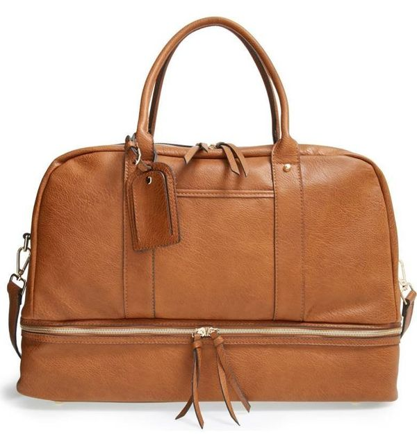 """Get it at <a href=""""https://shop.nordstrom.com/s/sole-society-mason-weekend-bag/3976297?country=US&currency=USD&cm_mmc"""