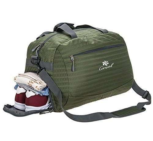 9f4a642242e0 Coreal Duffle Bag Sports Gym Travel Luggage Including Shoes Compartment  Women   Men. Amazon