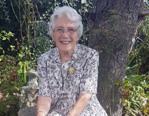 Rosina Coleman, who was found dead at her home in Ashmour Gardens,