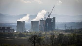BOGATYNIA, POLAND - APRIL 13: A lignite-fired power plant is pictured on April 13, 2018 in Bogatynia, Poland. (Photo by Florian Gaertner/Photothek via Getty Images)