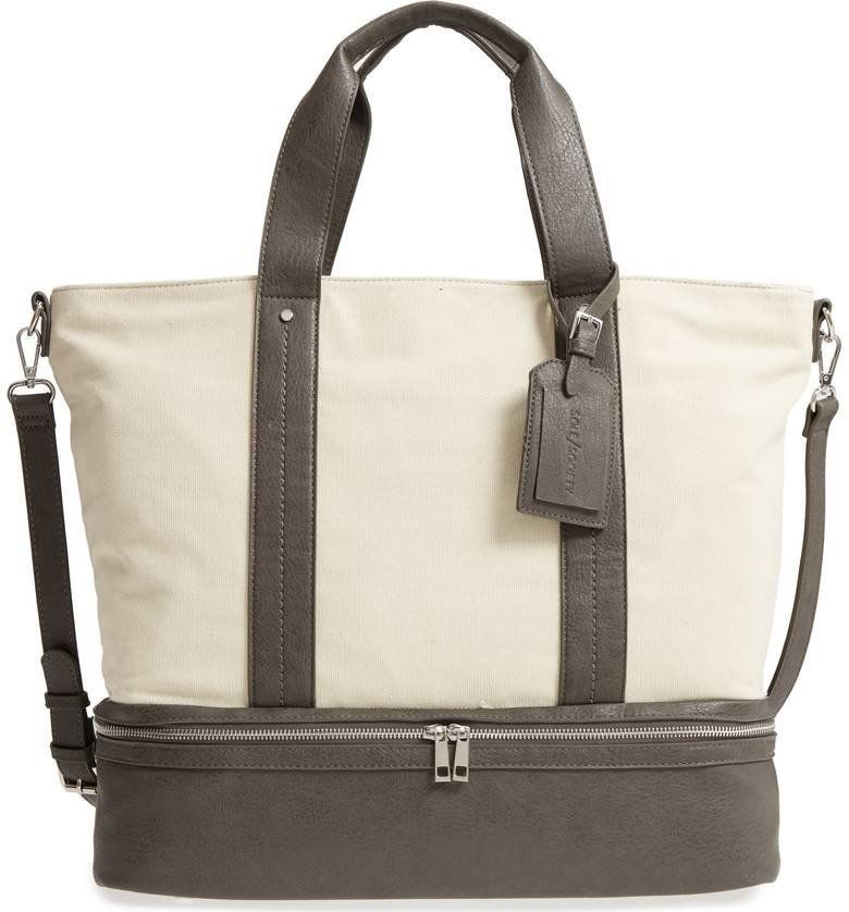12 Spacious Weekend Bags With Shoe Compartments  3bf08643f109
