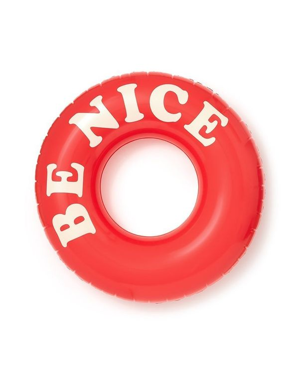 """Get it on <a href=""""https://www.bando.com/collections/pool-floats/products/float-on-giant-innertube-be-nice"""" target=""""_blank"""">B"""