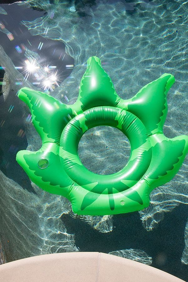 """Get it on <a href=""""https://www.urbanoutfitters.com/shop/weed-pool-float?category=pool-floats&color=030"""" target=""""_blank"""">U"""