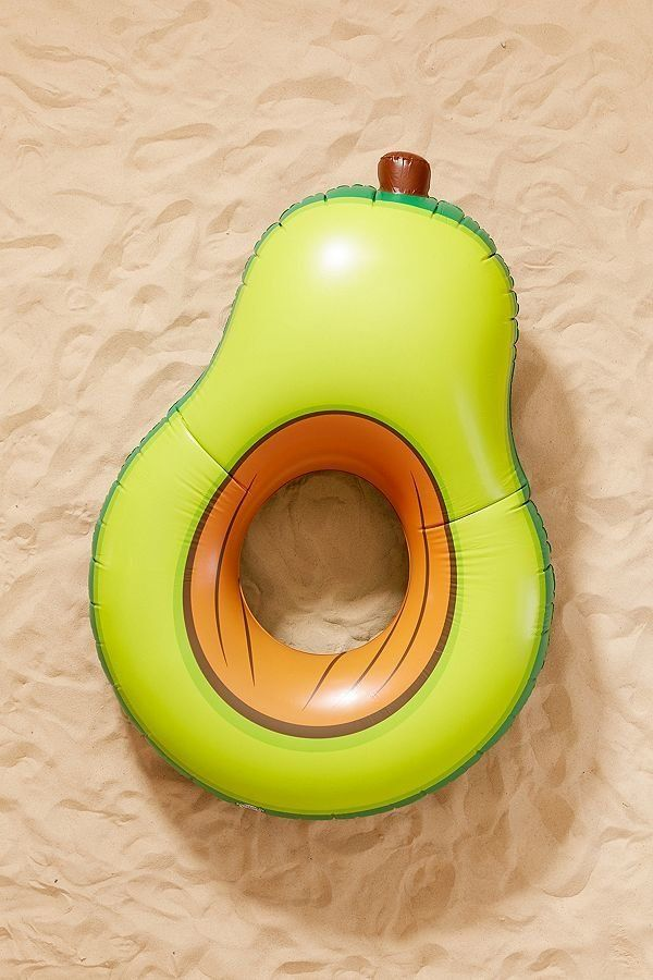 """Get it on <a href=""""https://www.urbanoutfitters.com/shop/green-avocado-pool-float?category=pool-floats&color=030"""" target="""""""