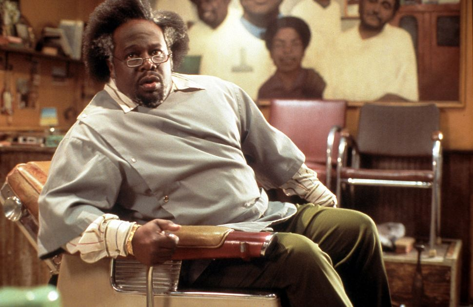 "Cedric the Entertainer in ""Barbershop."""