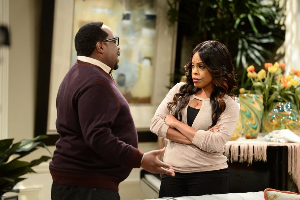 "Cedric the Entertainer and Niecy Nash on ""The Soul Man."""