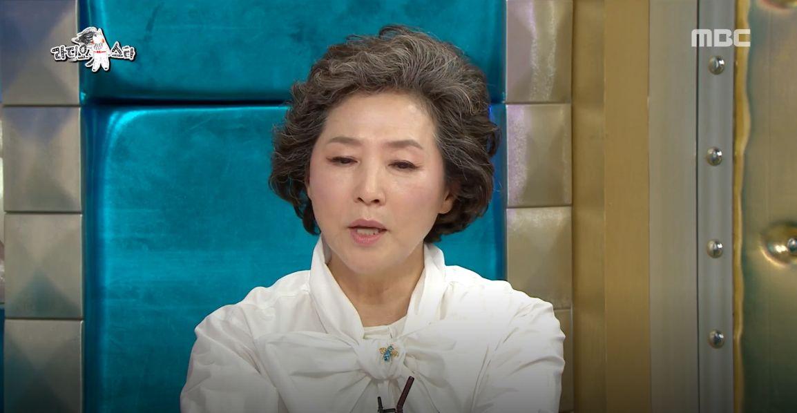 배우 고두심이 금연을 결심한