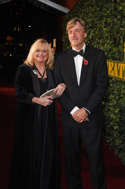 Judy Finnigan and husband Richard Madeley