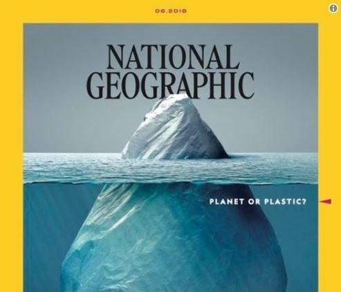 Αυτό το εμβληματικό εξώφυλλο για τη μόλυνση των θαλασσών από πλαστικό ανήκει (φυσικά) στο National
