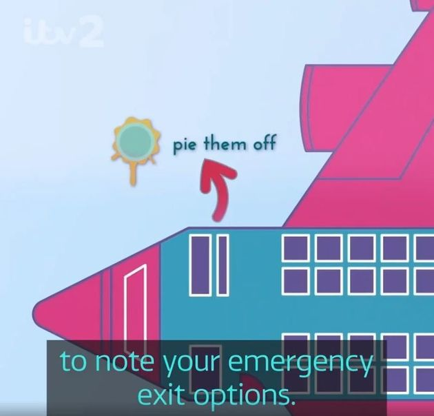 Love Island's Parody In-Flight Safety Video Is Full Of Easter Eggs For