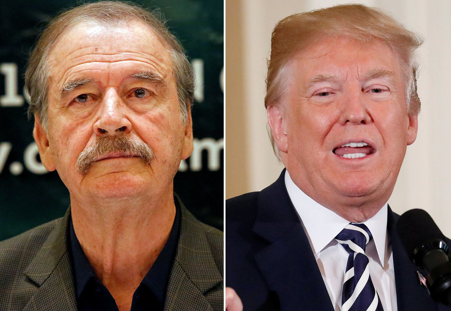Former Mexican President Burns Total Fraud Trump By Rewriting One Of His Tweets