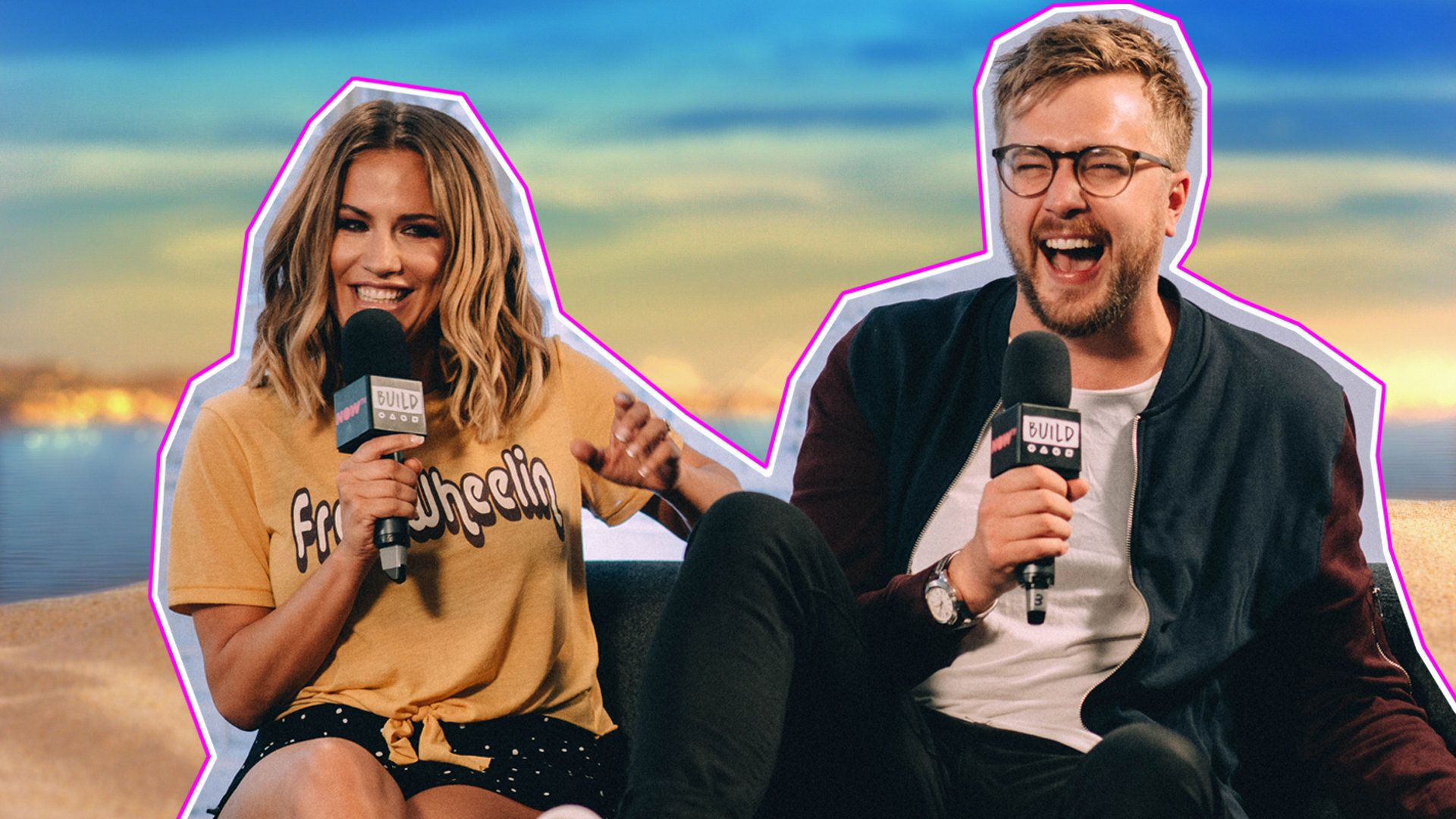 Caroline Flack And Iain Stirling Separate Fact From Fiction Over This Year's 'Love Island'
