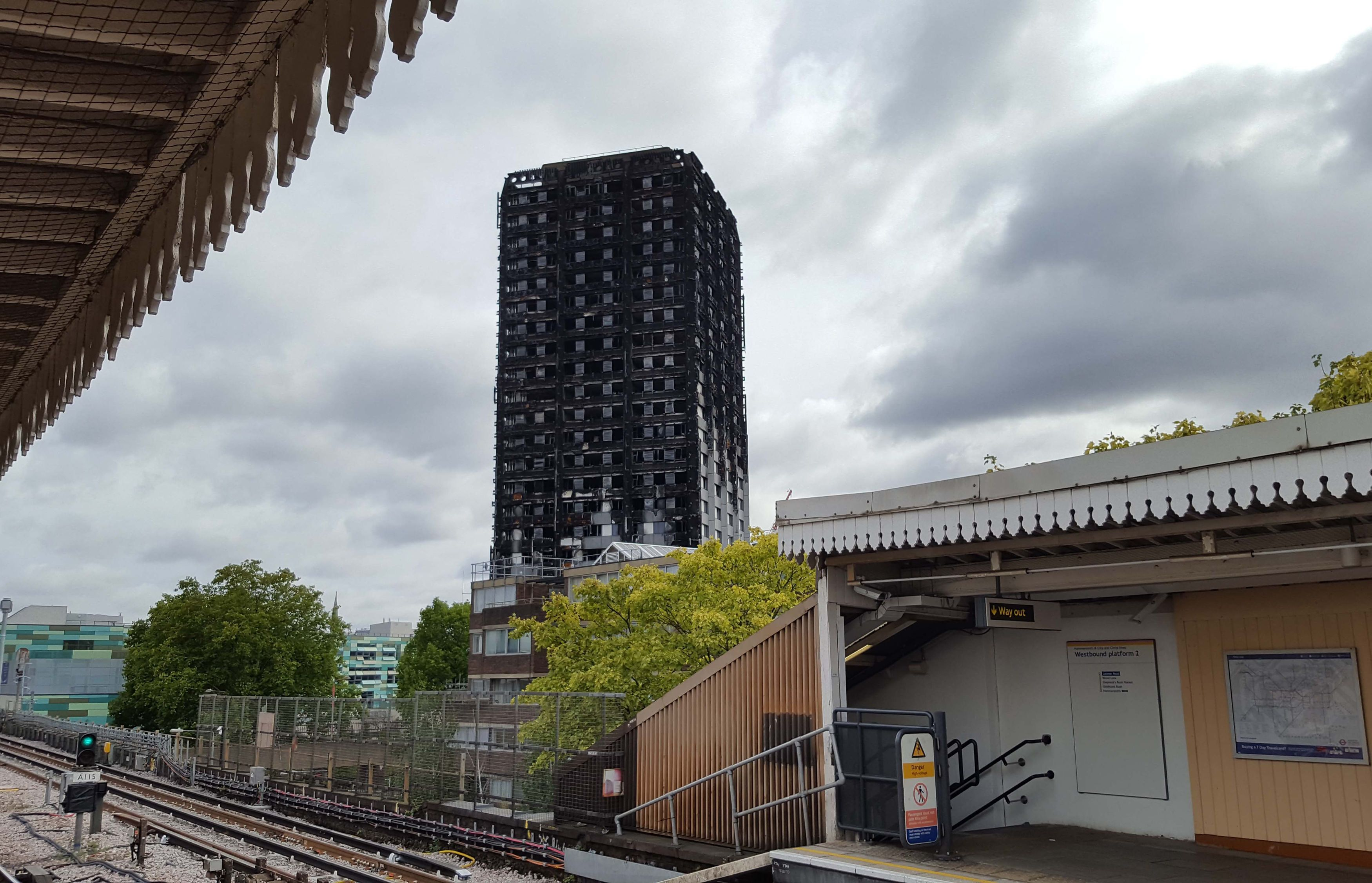 United Kingdom  review after tower block fire sparks controversy