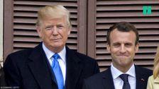 Trump And Macron's Transatlantic Bromance