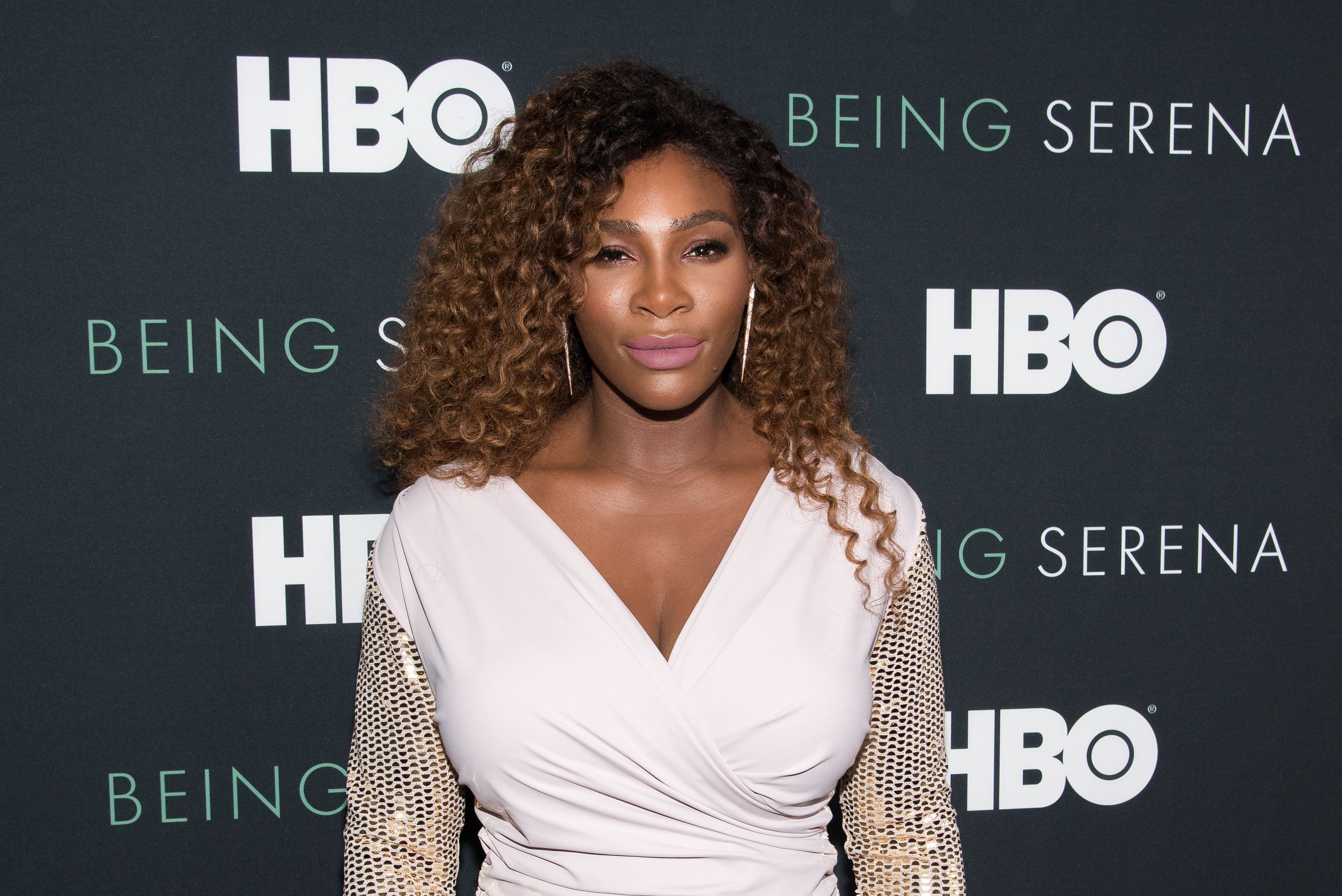 NEW YORK, NY - APRIL 25:  Serena Williams attends the 'Being Serena' New York Premiere at Time Warner Center on April 25, 2018 in New York City.  (Photo by Mike Pont/WireImage)